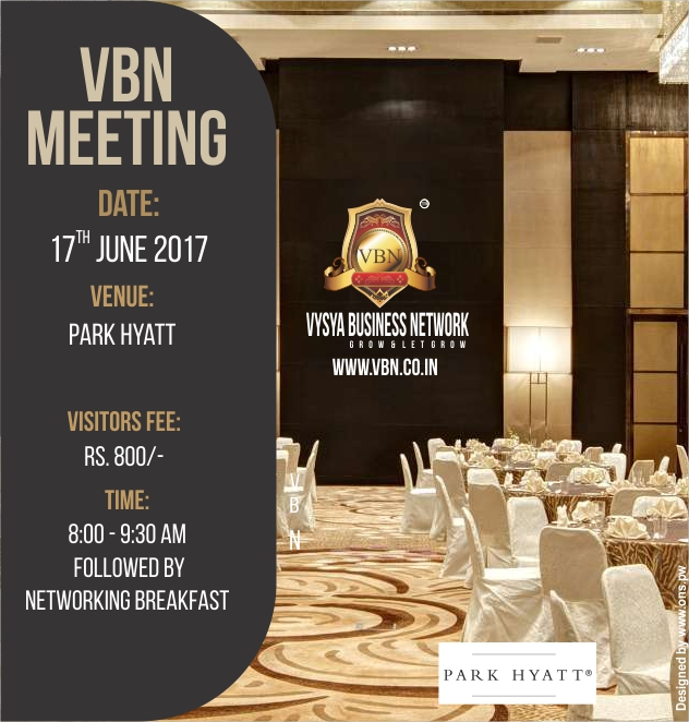 VBN Meeting - 17 June 2017