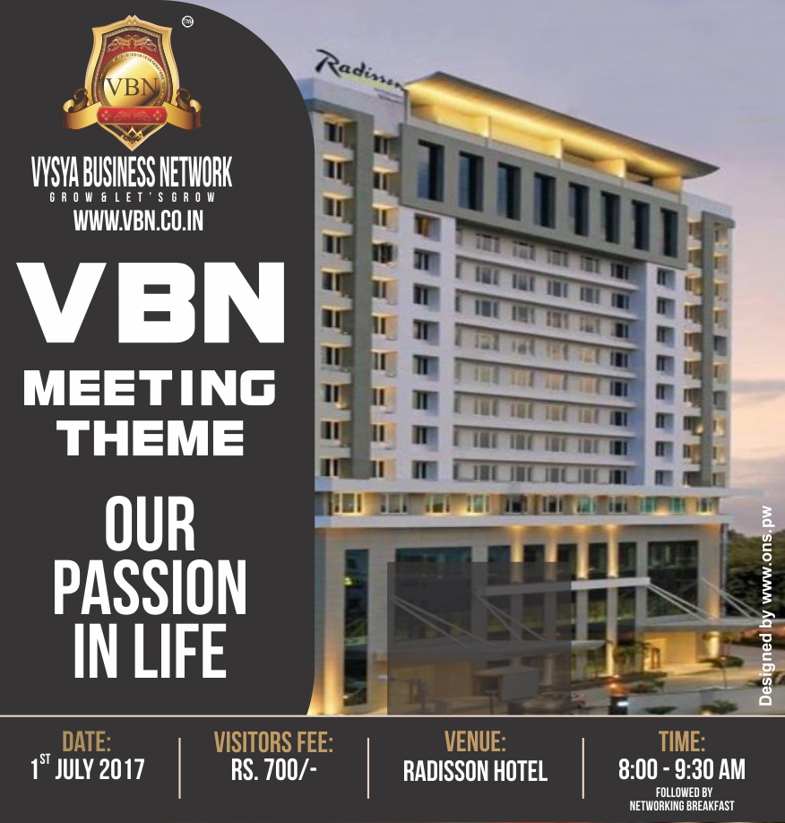 VBN Meeting - 01 July 2017