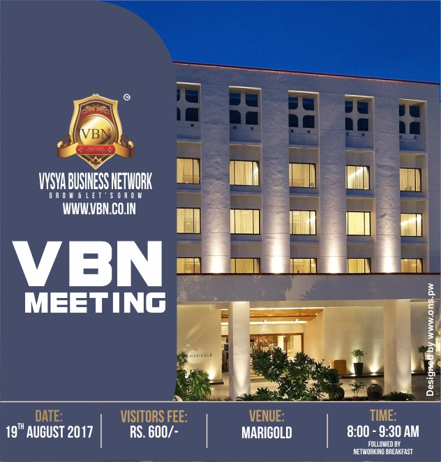 VBN Meeting - 19th Aug 2017