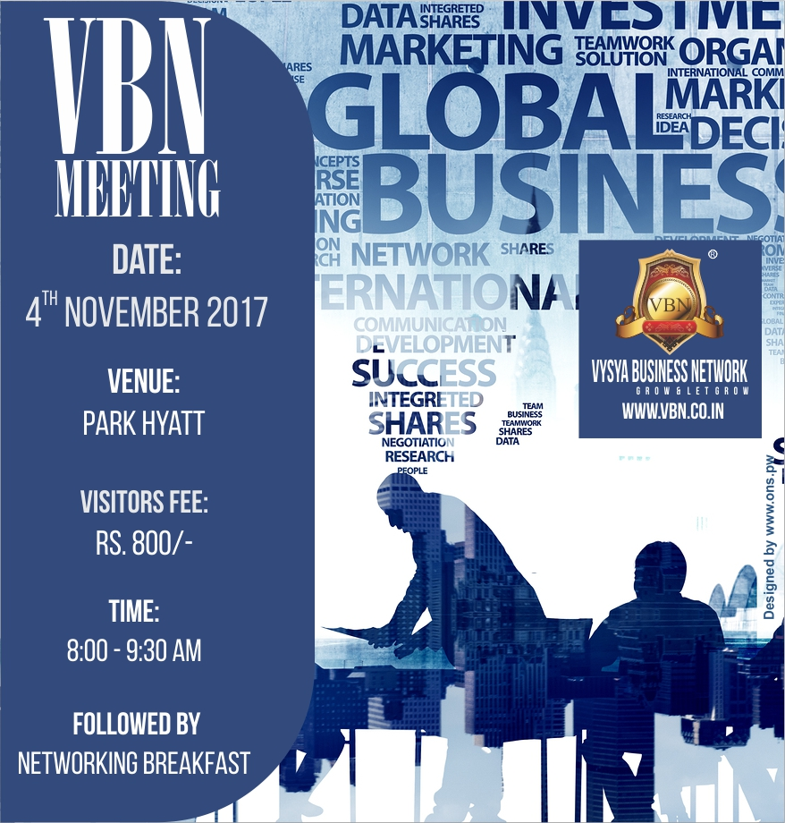 VBN Meeting - 04 November 2017