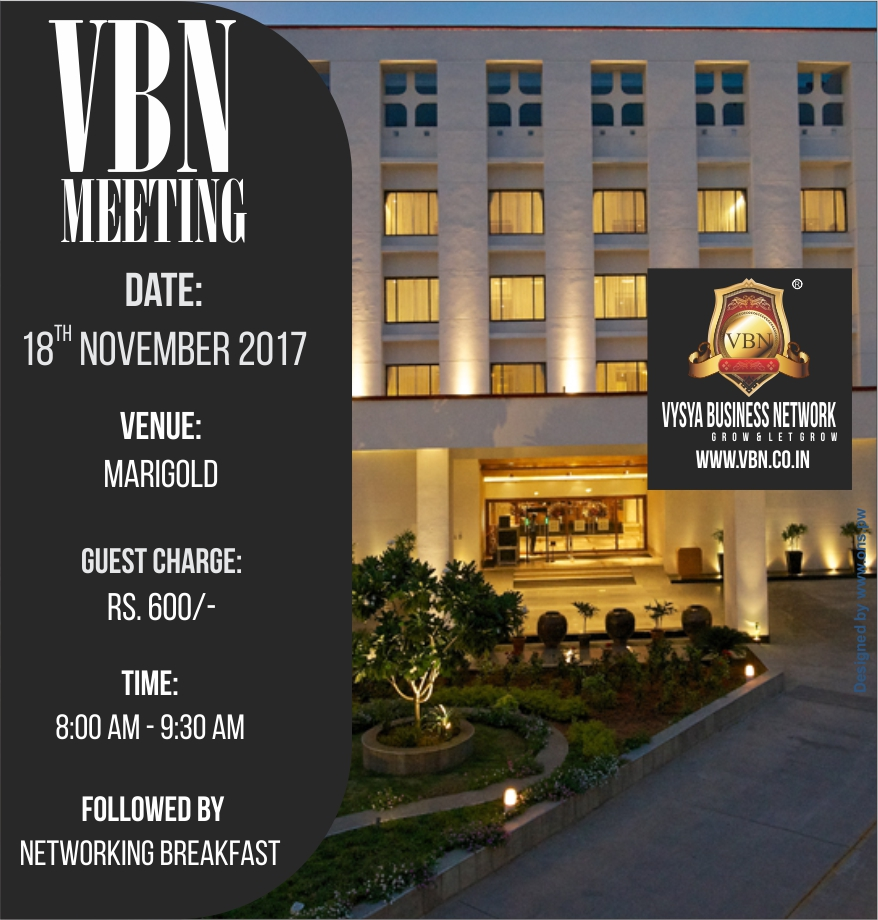 VBN Meeting - 18 November 2017